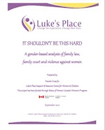 "Cover of report ""It shouldn't be this hard"""