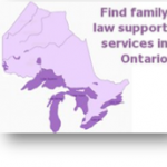 Family law support services map