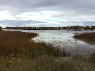 Sioux Lookout, looking into Pelican Lake from First Ave. South