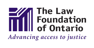 The Law Foundation of Ontario Advancing access to justice