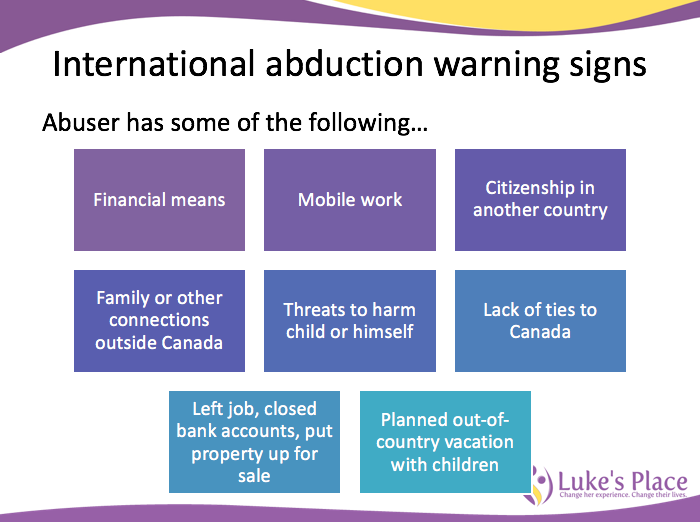 Ways to prepare for, prevent and respond to an international abduction: Webinar