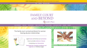 Family Court and Beyond website homepage