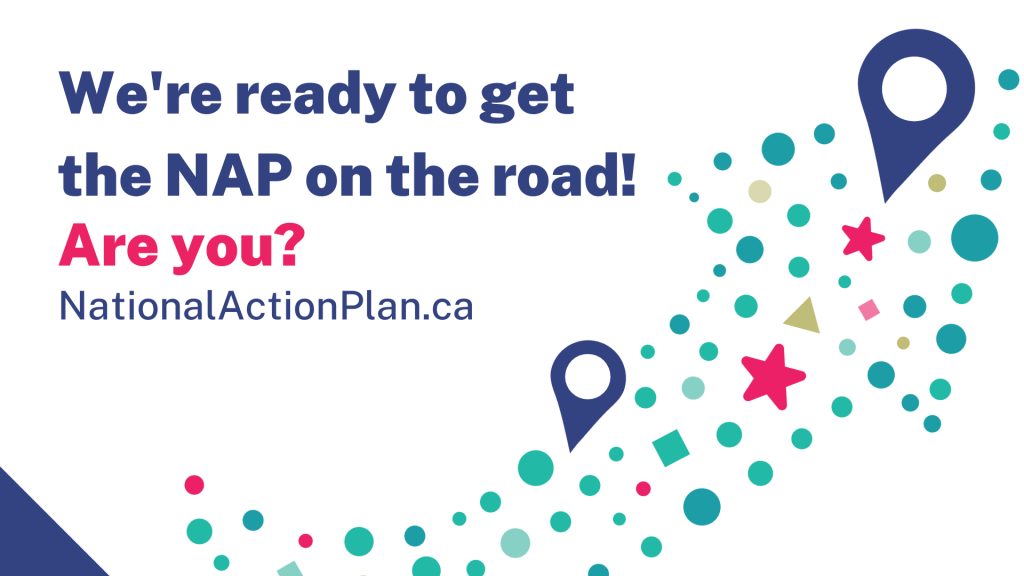 We're ready to get the NAP on the road! Are you? NationaActionPlan.ca